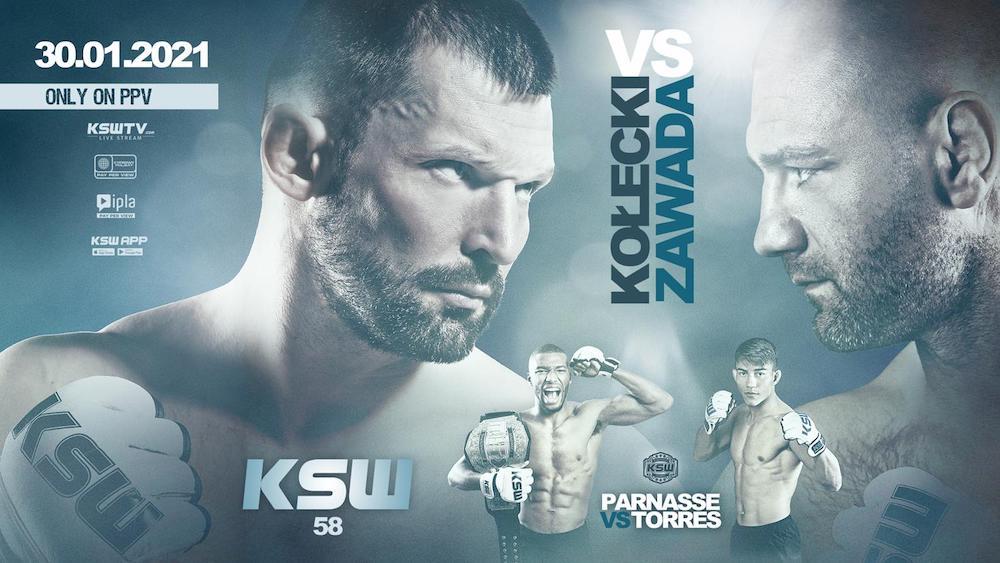 KSW 58 - sobota 30 stycznia 2021